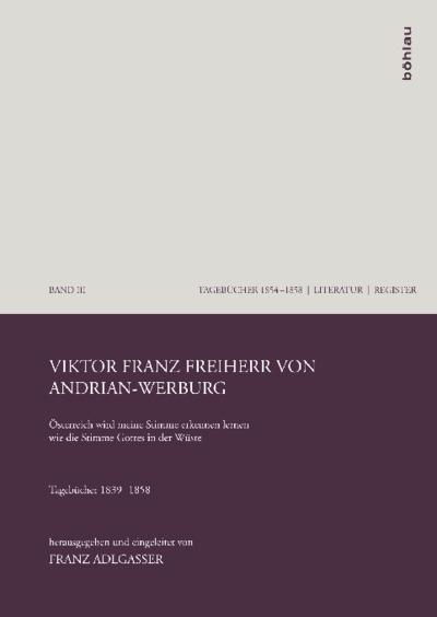 Viktor Franz Freiherr von Andrian-Werburg