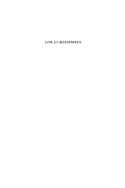 Life at Maripaston