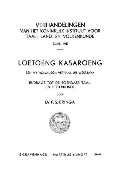 Loetoeng Kasaroeng