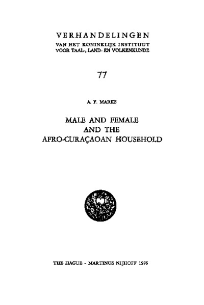 Male and Female and the Afro-Cura
