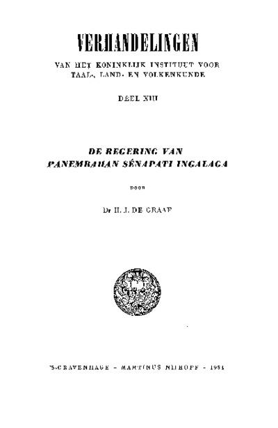 De regering van Panembahan Sénapati Ingalaga