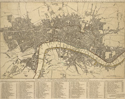 The LONDON DIRECTORY, or a New and Improved PLAN of LONDON, WESTMINSTER, and SOUTHWARK; 152