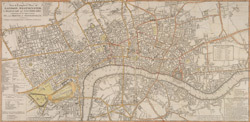 A New and Complete Plan of LONDON, WESTMINSTER and BOROUGH OF SOUTHWARK containing the Improvements IN, and ROUND the METROPOLIS