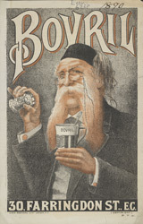 Advertisement for Bovril