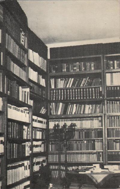 Muzeul Octavian Goga, Ciucea. Biblioteca