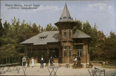 Piatra-Neamţ. Parcul Cozla Chioşcul Gospodinelor