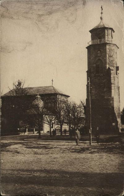 Piatra Neamţ. Catedrala bis. Sf. Ioan zidită de Ştefan-cel-Mare