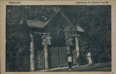 Piatra-N. Intrarea în Parcul Cozla