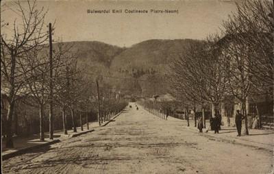 Piatra-Neamţ. Bulevardul Emil Costinescu