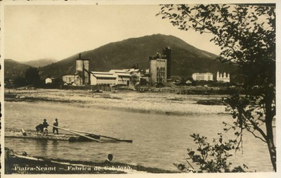 Piatra-Neamţ - Fabrica de celuloză