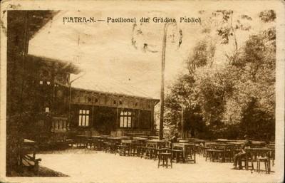 Piatra-N. - Pavilionul din Grădina Publică