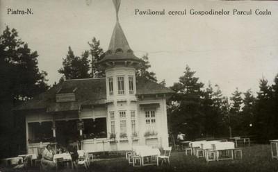 Piatra-N. Pavilionul cercul Gospodinelor - Parcul Cozla