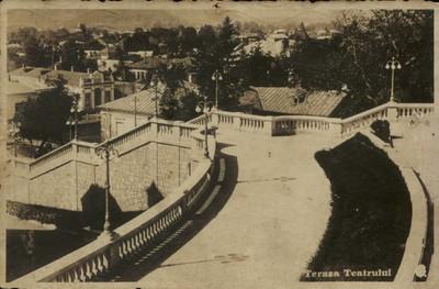 Piatra-Neamţ. Terasa teatrului