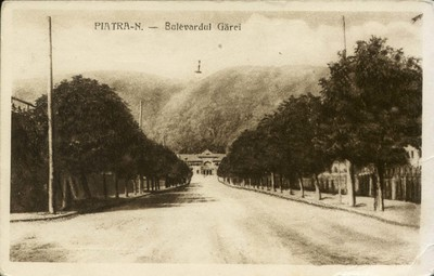 Piatra-N. - Bulevardul Gărei