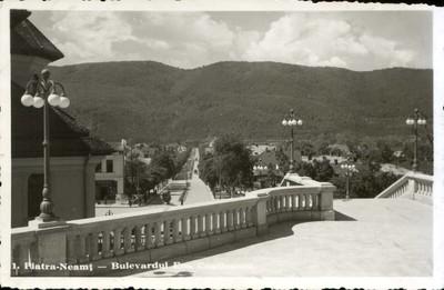 Piatra-Neamţ - Bulevardul Em. Costinescu