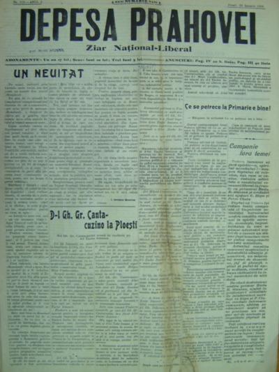 Depeșa Prahovei, Anul II, No 112