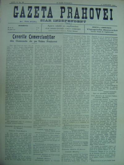 Gazeta Prahovei, Anul II, No. 12