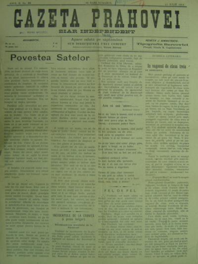 Gazeta Prahovei, Anul II, No.23
