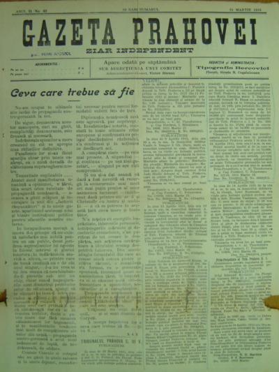 Gazeta Prahovei, Anul II, No.42