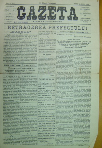Gazeta, Anul II, No 7