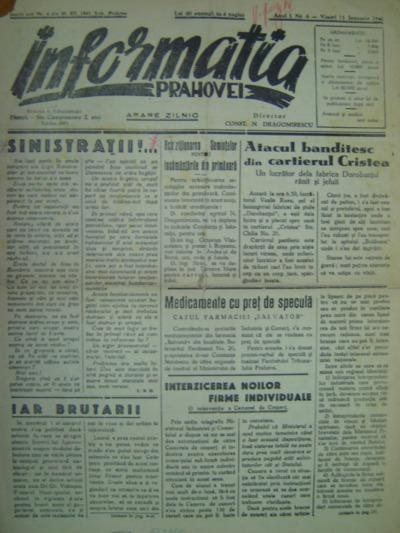 Informația Prahovei, Anul I, Nr. 6