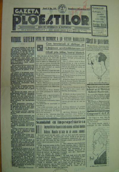 Gazeta Ploieștilor, Anul II, no. 215