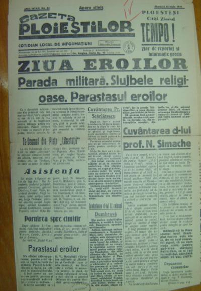 Gazeta Ploieștilor, Anul I, No. 64