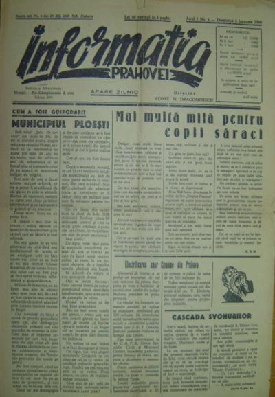 Informația Prahovei