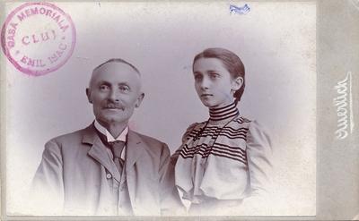 Avocatul Aurel Isac și fiica sa Lucia