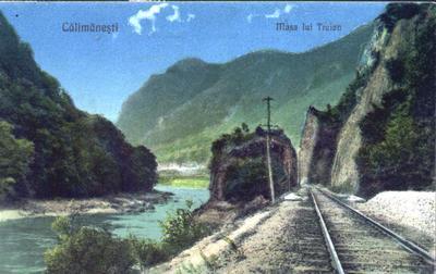 Băile Călimăneşti - Căciulata - Masa lui Traian (2)