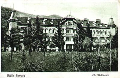 Băile Govora - Vila Ștefănescu (Hotelul Ștefănescu)