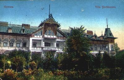Băile Govora - Vila (Hotelul) Ștefănescu
