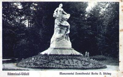 Monumentul Domnitorului Barbu  Știrbey - Rm. Vâlcea