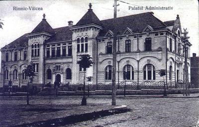 Râmnicu Vâlcea-Palatul Administrativ
