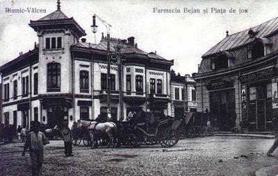 Râmnicu Vâlcea -Farmacia Bejan și Piața de Jos