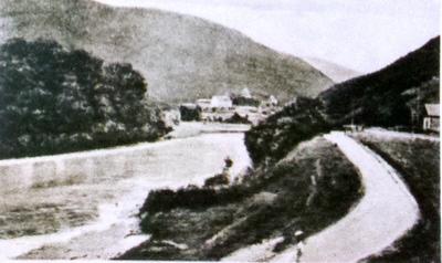 Băile Călimănești-Pozițiune pe Valea Oltului