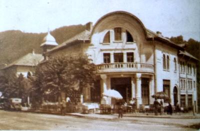 Călămănești Vâlcea-Cazinoul și bufetul