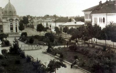 Aspect din orașul Drăgășani