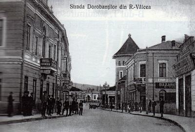 Rm. Vâlcea-Fosta stradă a Dorobanților, Piața centrală a orașului, Librăria O. Thuringher