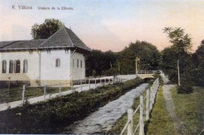 Rm. Vâlcea - Iazul Morilor din Parcul Zăvoi și Baia populară