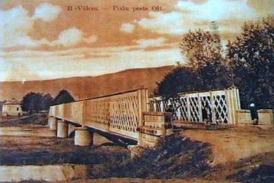 Podul de fier peste Olt-la Goranu