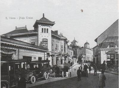 Piața Traian din Rm. Vâlcea