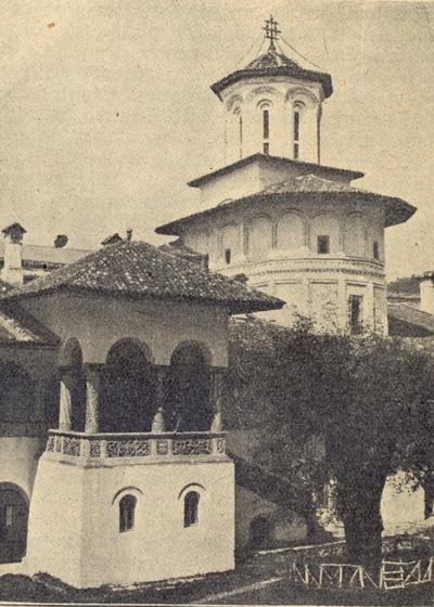 Paraclisul Mănăstirii Hurez 1930