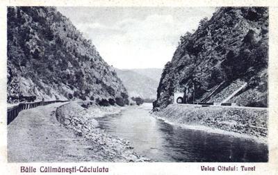 Vechiul Tunel pe Valea Oltului