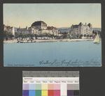 Zürich Stadt-Theater vom See aus