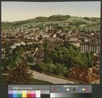 [St. Gallen mit Kirche St. Laurenzen und Stiftskirche]