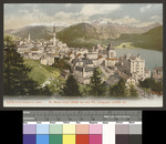 St. Moritz-Dorf (1839 m) mit Piz Languard (3266 m)