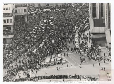 Sepelio de los abogados laboralistas asesinados en su despacho de la Calle Atocha en Madrid el 24 de enero de 1977