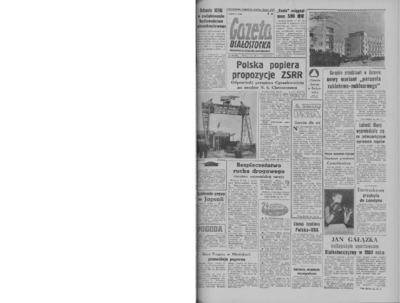 Gazeta Białostocka 1964, nr 30