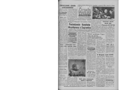 Gazeta Białostocka 1964, nr 34
